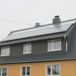 Prefa mit Solaranlage